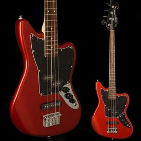 Squier Vintage Modified Jaguar Bass Special SS, Rosewood Fingerboard, Candy Apple Red