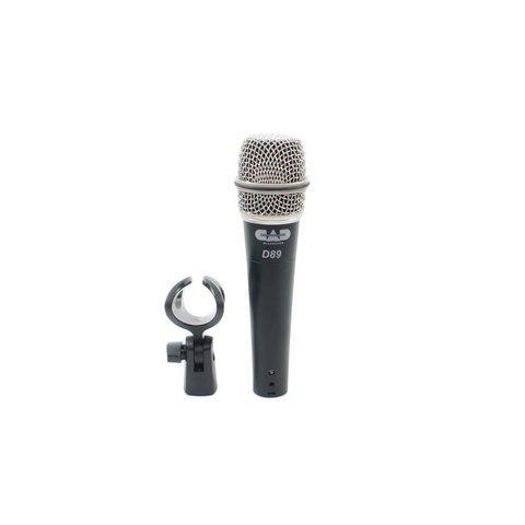 CAD D89 Premium Supercardioid Instrument Microphone
