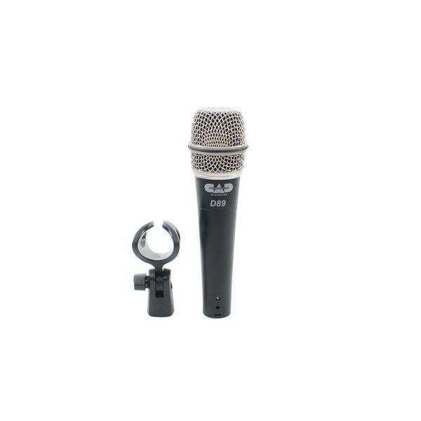 CAD CAD D89 Premium Supercardioid Instrument Microphone