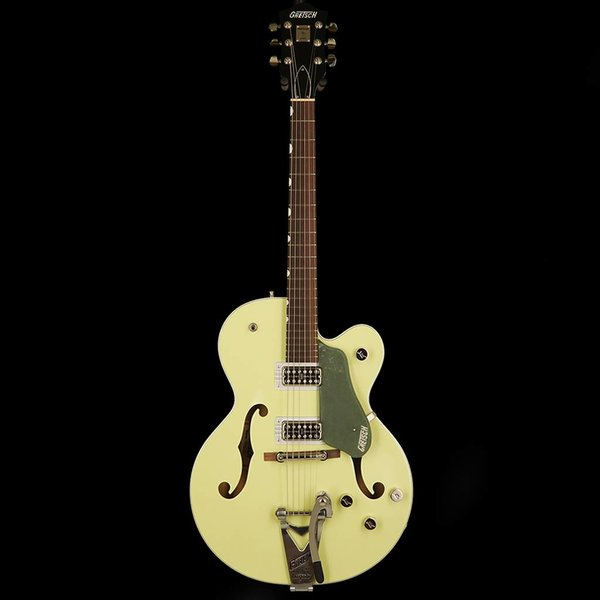 Gretsch Guitars Gretsch G6118T-SGR Players Edtn Anvsry w/ Strg-Thru Bigsby, Filter'Tron Pickups, 2-Tone Smoke Green
