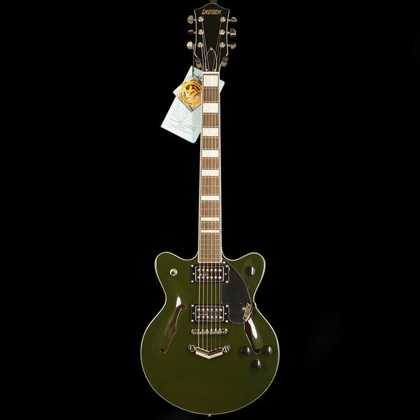 Gretsch Guitars Gretsch G2655 Streamliner Center Block Jr Double Cutaway Torino Green