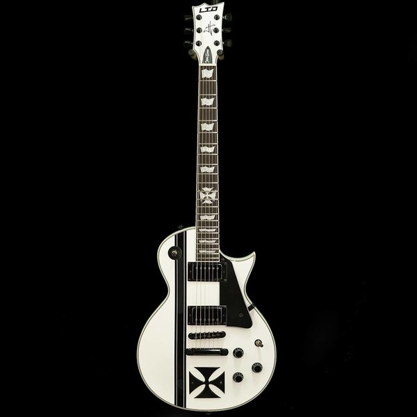 LTD ESP LTD IRON CROSS James Hetfield Signature Series Electric Guitar Snow White