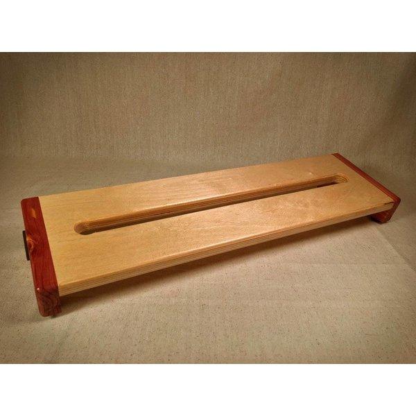 KY Hot Brown Pedalboards KY Hot Brown Pedalboards Hot Box Standard Cedar Reverse