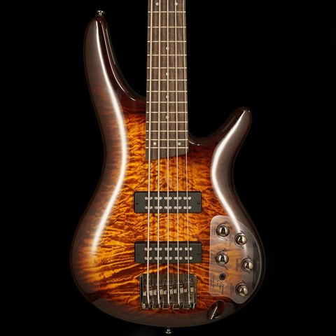 Ibanez SR405EQMDEB SR Soundgear 5-String Electric Bass Guitar Dragon Eye Burst