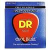 DR CBE-9 Cool Blue Electric Guitar Strings, Light, 9-42