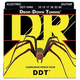 DR Handmade Strings DR DDT-10/60 Drop Down Tuning Electric Guitar Strings,10-60