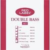 Super Sensitive Red Label 3/4 Bass String Set