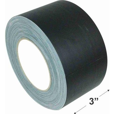 3'' Gaffers Tape, Cable Grade, 45 Yard, Black