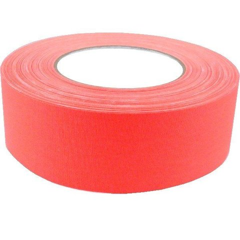 2'' Gaffers Tape, Cable Grade, 50 Yard, Neon Orange