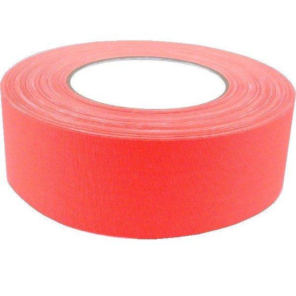American Recorder Technologies 2'' Gaffers Tape, Cable Grade, 50 Yard, Neon Orange