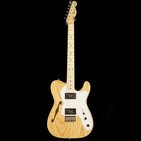 Classic Series '72 Telecaster Thinline, Maple Fingerboard, Natural