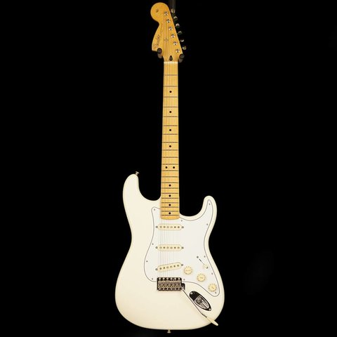 Jimi Hendrix Stratocaster, Maple Fingerboard, Olympic White