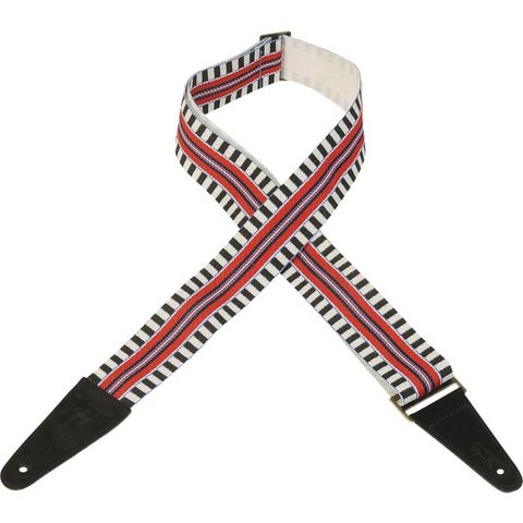 Levy's MC8ARZ-004 2'' Polyester Guitar Strap w/ Patterns