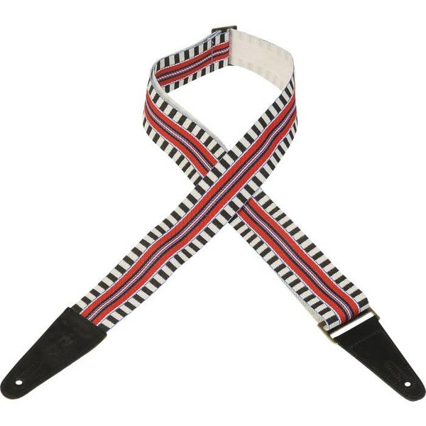 Levy's Leathers Levy's MC8ARZ-004 2'' Polyester Guitar Strap w/ Patterns