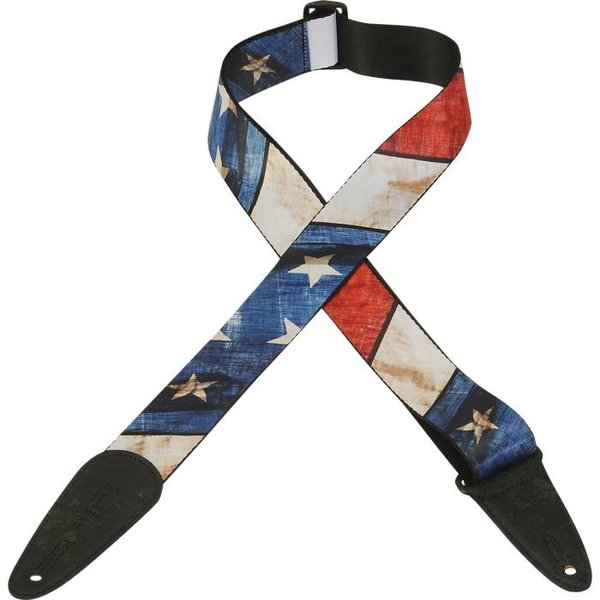 Levy's Leathers Levy's MDP-US 2'' Polyester Sublimation Printed Guitar Strap