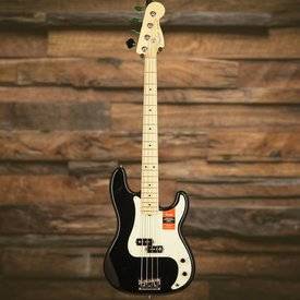 Fender American Pro Precision Bass, Maple Fingerboard, Black