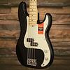 American Pro Precision Bass, Maple Fingerboard, Black