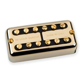 Seymour Duncan Seymour Duncan Psyclone Hot, Bridge, Gold Cover