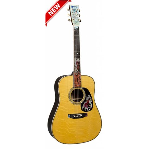 Martin D-45 Fire & Ice Custom Series (Case Included)