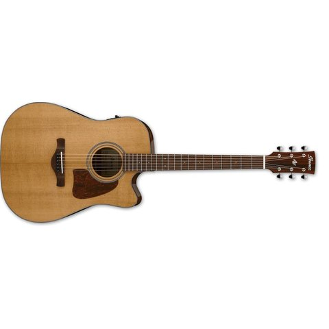 Ibanez AVD9CENT Artwood Vintage Thermo Aged Dreadnought Acoustic Electric Guitar - Natural Gloss