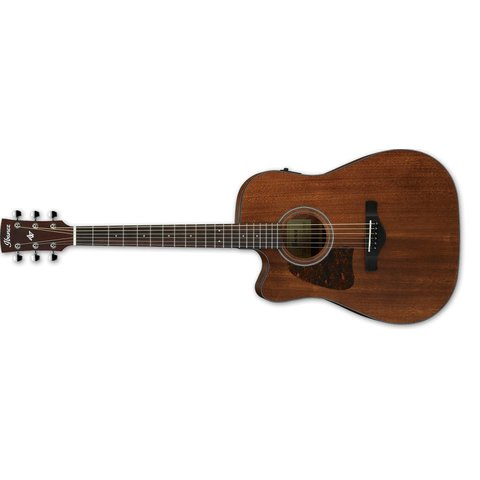 Ibanez AW54LCEOPN Artwood Dreadnought Acoustic Electric Guitar Lefty - Open Pore Natural