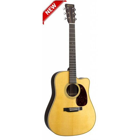 Martin HDC-28E Left (Fishman Elect) (New 2018) Standard Series (Case Included)