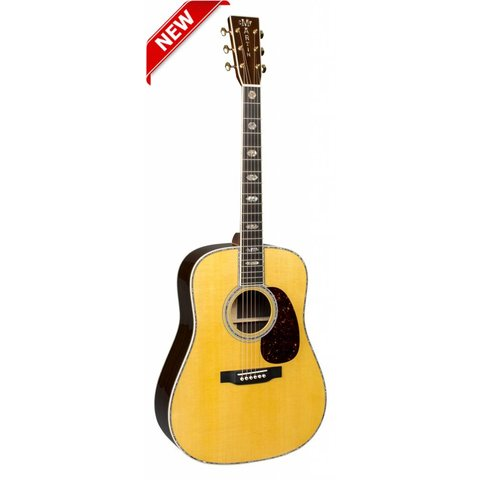 Martin D-45 Left (New 2018) Standard Series (Case Included)