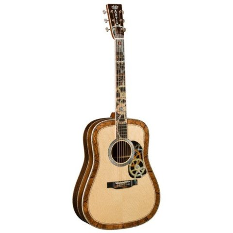 Martin D-200 Deluxe Left Limited/Special Editions (Case Included)