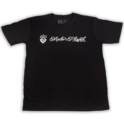 Guild Made To Be Played T Shirt - BLK - L