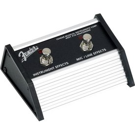 Fender 2-Button Footswitch: Acoustasonic Jr. DSP, 1/4'' Connector