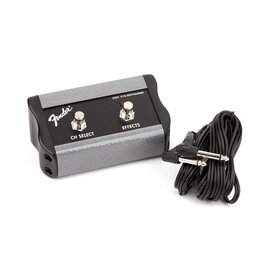 """Fender 2-Button Footswitch: Channel/FX, 1/4"""" Connector"""