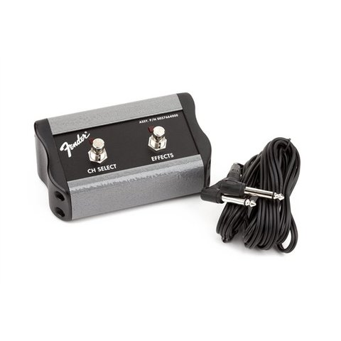 2-Button Footswitch: Channel/FX, 1/4'' Connector