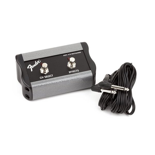 Fender 2-Button Footswitch: Channel/FX, 1/4'' Connector