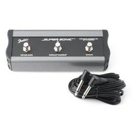 Fender 3-Button Footswitch: Vintage & Burn/Vibrolux & Bassman/Effects, 1/4'' Connector