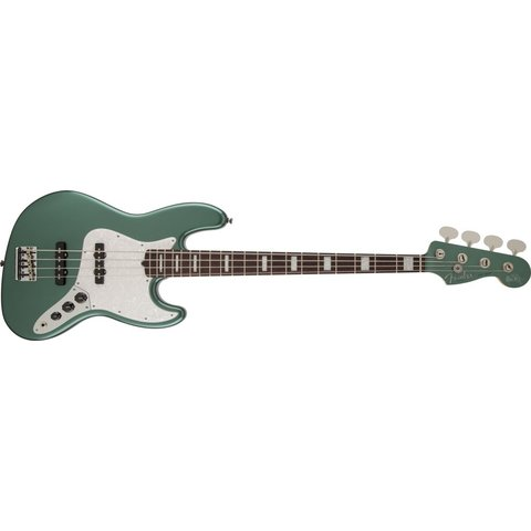 Adam Clayton Jazz Bass, Rosewood Fingerboard, Sherwood Green Metallic