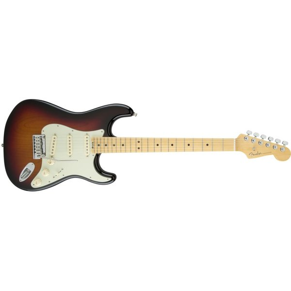 Fender American Elite Stratocaster, Maple Fingerboard, 3-Color Sunburst