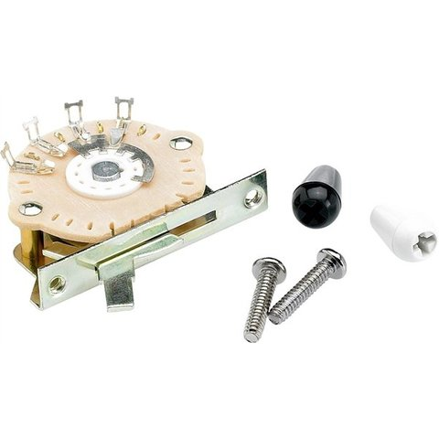 5-Position Modern-Style Stratocaster Pickup Selector Switch
