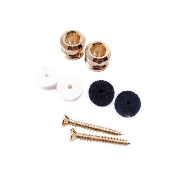 Fender American Series Locking Strap Buttons (2) (Gold)