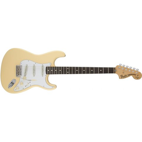 Yngwie Malmsteen Stratocaster, Scalloped Rosewood Fingerboard, Vintage White