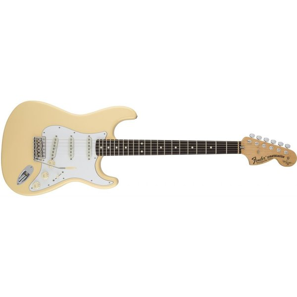 Fender Yngwie Malmsteen Stratocaster, Scalloped Rosewood Fingerboard, Vintage White