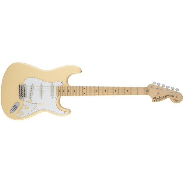Fender Yngwie Malmsteen Stratocaster, Scalloped Maple Fingerboard, Vintage White