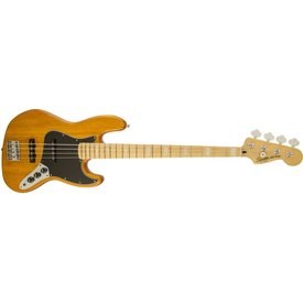 Squier Vintage Modified Jazz Bass '77, Maple Fingerboard, Amber