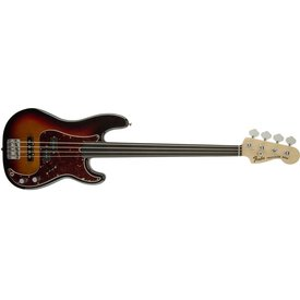 Fender Tony Franklin Fretless Precision Bass, Ebony Fingerboard, 3-Color Sunburst