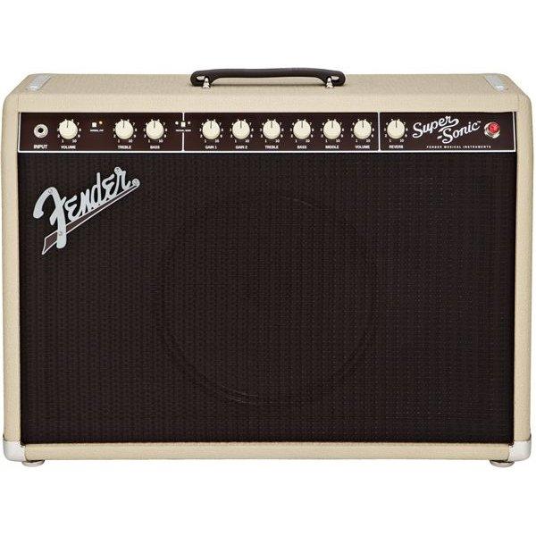 Fender Super-Sonic 22 Combo, Blonde, 120V