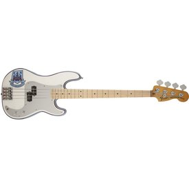 Fender Steve Harris Precision Bass, Maple Fingerboard, Olympic White