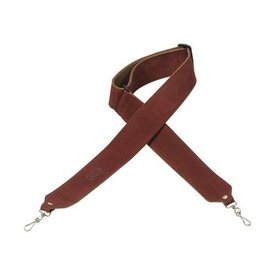 Levy's Leathers Levy's M9S-BRG 2'' Suede Banjo Strap w/ Suede Backing Burgandy