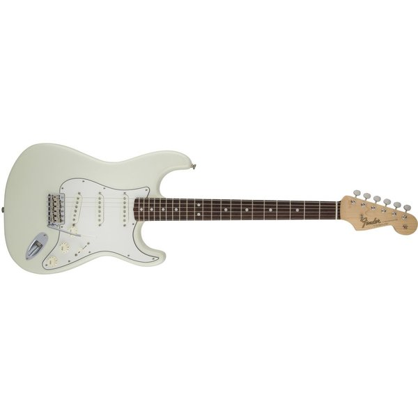Fender American Vintage '65 Stratocaster, Round-Lam Rosewood Fingerboard, Olympic White