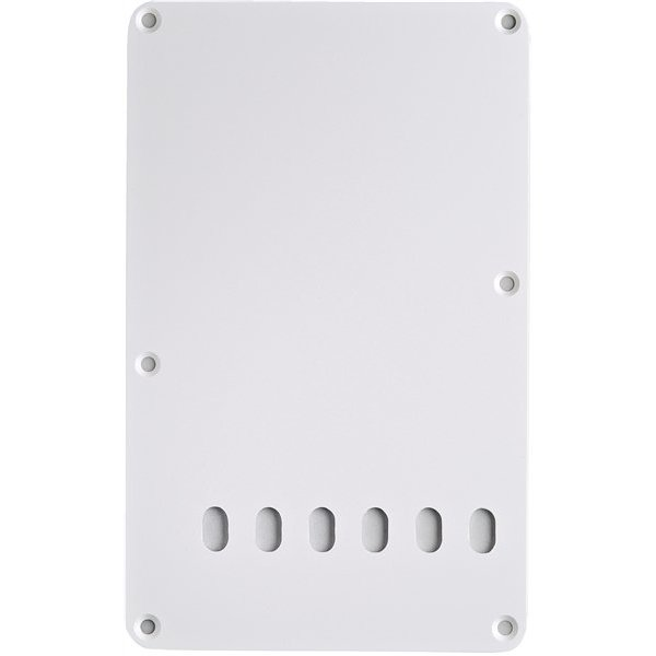 Fender Backplate, Vintage-Style Stratocaster, White, 1-Ply