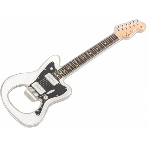 Fender Jazzmaster White Bottle Opener