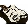 Black and Chrome Standard Stratocaster HSS, Rosewood Fingerboard, Black